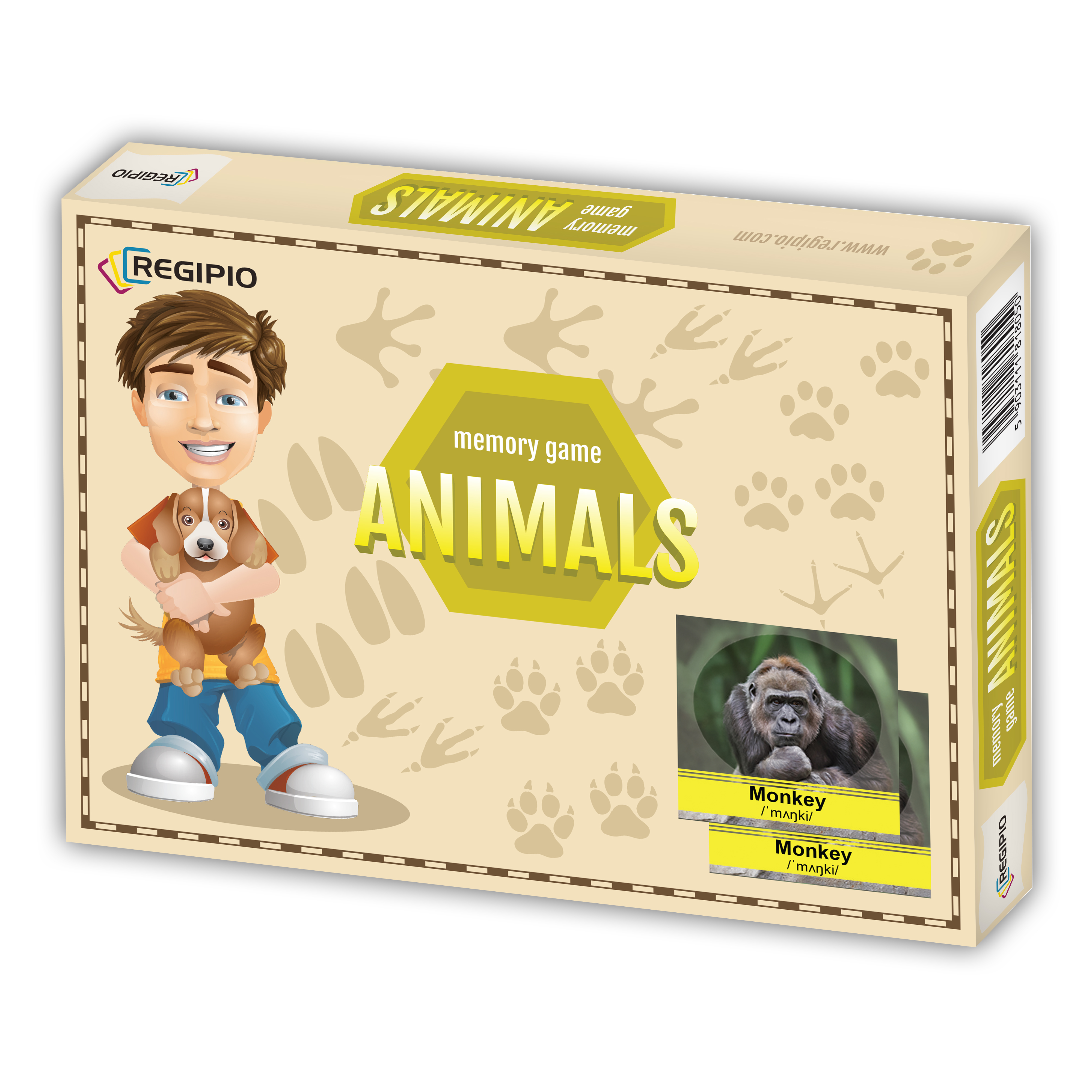 Memory Game - Animals