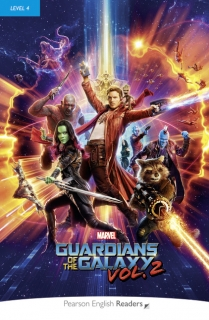 Pearson English Readers: Marvel's The Guardians of the Galaxy Vol. 2 + Audio CD